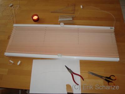 reparaturanleitung plissee jalousie ifasol. Black Bedroom Furniture Sets. Home Design Ideas